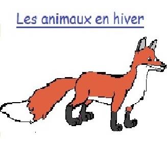 ANIMAUX EN HIVER